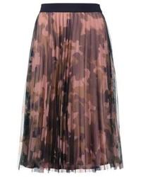 brauner Camouflage A-Linienrock von Vila