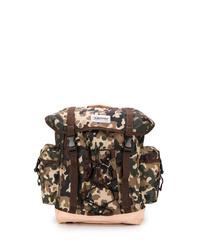 brauner Camouflage Rucksack von Eastpak
