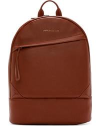 brauner Leder Rucksack von WANT Les Essentiels