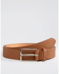 brauner Ledergürtel von Asos