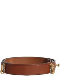 brauner Ledergürtel von Burberry
