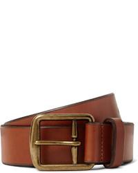 brauner Ledergürtel von Polo Ralph Lauren