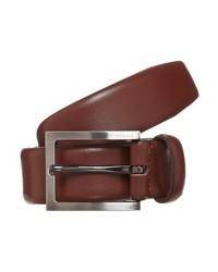 brauner Ledergürtel von Strellson