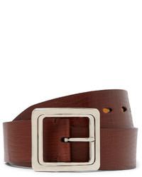 brauner Ledergürtel von Tom Ford