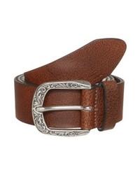 brauner Ledergürtel von Tom Tailor