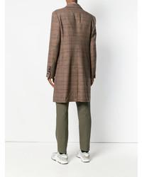 brauner Mantel mit Karomuster von Vivienne Westwood