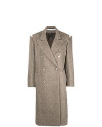 brauner Mantel von Maison Margiela