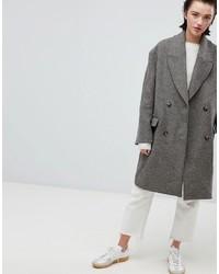 brauner Mantel von Weekday