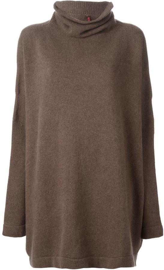 brauner Oversize Pullover   Wo zu kaufen und wie zu kombinieren ff693ca70f