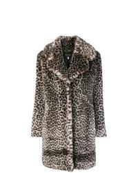 brauner Pelz mit Leopardenmuster von La Seine & Moi