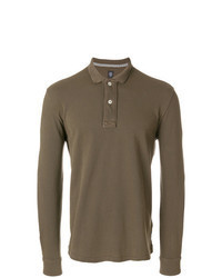 brauner Polo Pullover