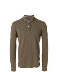 brauner Polo Pullover von Eleventy