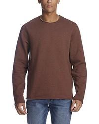 brauner Pullover mit einem Rundhalsausschnitt von Bench