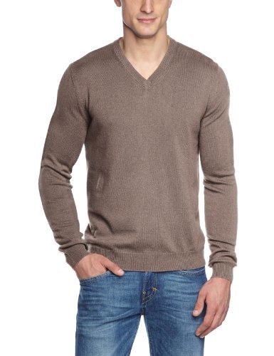 finest selection 1d344 37180 €77, brauner Pullover mit einem V-Ausschnitt von Maerz