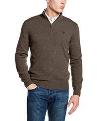 brauner Pullover von Hackett Clothing