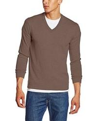 brauner Pullover von Marc O'Polo
