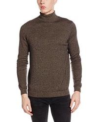 brauner Pullover von New Look