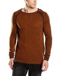 brauner Pullover von Selected Homme