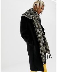 brauner Schal mit Karomuster von ASOS DESIGN
