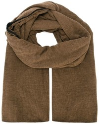 brauner Schal von Isabel Benenato