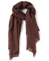 brauner Schal von Rick Owens