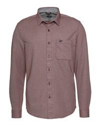 braunes Langarmhemd von Dockers