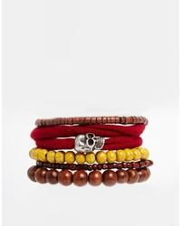 braunes Perlen Armband