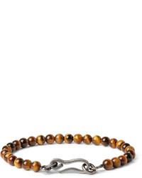 braunes Perlen Armband von Bottega Veneta