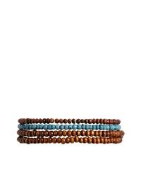 braunes Perlen Armband von Classics 77