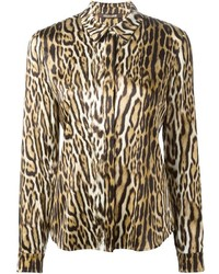 mit Leopardenmuster