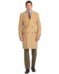 Camel Mantel von Brooks Brothers