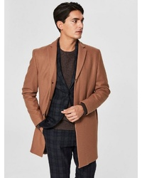 camel Mantel von Selected Homme