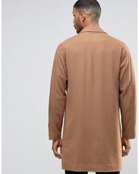 camel Mantel von Asos