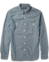 Chambray langarmhemd original 363960