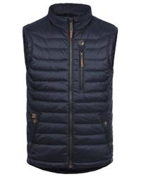 dunkelblaue ärmellose Jacke von BLEND