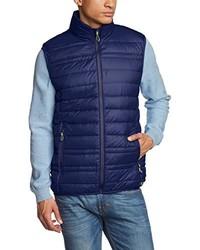 dunkelblaue ärmellose Jacke von CMP