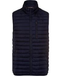 dunkelblaue ärmellose Jacke von Esprit
