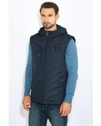 dunkelblaue ärmellose Jacke von FiNN FLARE