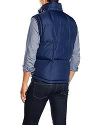 dunkelblaue ärmellose Jacke von Hilfiger Denim