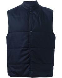 dunkelblaue ärmellose Jacke von Paul Smith