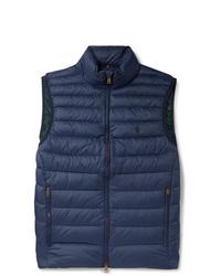 dunkelblaue ärmellose Jacke von Polo Ralph Lauren