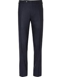 dunkelblaue Anzughose aus Seide von Canali