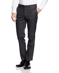 Dunkelblaue Anzughose von Burton Menswear London