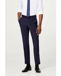 dunkelblaue Anzughose von ESPRIT Collection