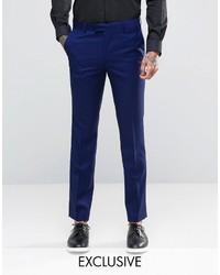 dunkelblaue Anzughose von Farah