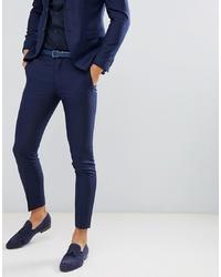 dunkelblaue Anzughose von Jack & Jones
