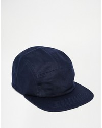 dunkelblaue Baseballkappe von Asos