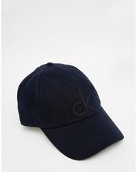 dunkelblaue Baseballkappe von Calvin Klein