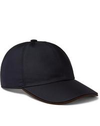 dunkelblaue Baseballkappe von Ermenegildo Zegna