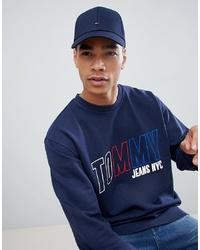 dunkelblaue Baseballkappe von Tommy Hilfiger